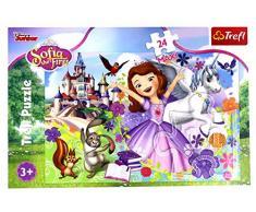 Trefl 5900511142709 Puzzle Puzzle Puzzle (Puzzle, Zeichnungen, Kinder, Sofa The First, Junge/Mädchen, 3 Stück)