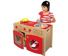 Inspirierende Kindergärten PT215 Wolds komplett Kleinkinder Küche Spielzeug