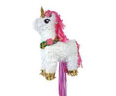 amscan P19733 Pull Pinata Magical Unicorn Spielzeug, Mehrfarbig