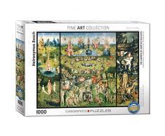 Eurographics Hieronymus Bosch - Der Garten der Lüste/Triptychon Puzzle (1.000 Teile, Mehrfarbig)