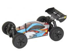 XciteRC 30506000 RC Auto Buggy one16 B, 4WD Ready To Race Modellauto, 1:16 mit 2.4 GHz Fernsteuerung, blau
