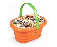 Smoby-44 Katzenkorb PIC NIC, Farbe Orange, 7600310509
