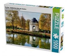 Pavillon - Südöstliche Ecke des Gartens 1000 Teile Puzzle quer