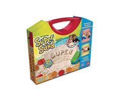 Goliath 83237 | Super-Sand Koffer-ABC | lustige Wörter mit Spiel-Sand bauen | Spielspaß beim Alphabet lernen | handlicher Sandkasten zum Mitnehmen | ab 4 Jahren