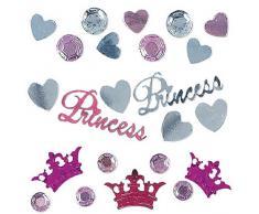 Amscan International 369137 Konfetti Pretty Princess