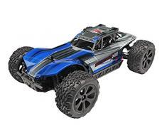 Redcat Racing Blackout XBE Elektrischer Buggy mit wasserdichter Elektronik Fahrzeug (1/10 Skala), Blau