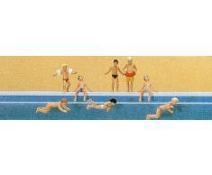Preiser 10307 H0 Kinder im Schwimmbad
