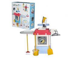 Polesie 42330 Küche Infinity Premium mit Waschmaschine Box, Kochen und Spielen Spielzeug