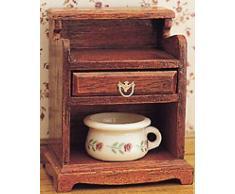 MiniMundus Nachttisch für Das Puppenhaus, Bausatz