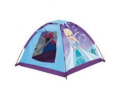 John 75108 Kids Gartenzelt Die Eiskönigin Spielzelt, Campingzelt, Kinderzelt, Outdoorzelt mit gedrucktem Motiv für Kinder, Blau