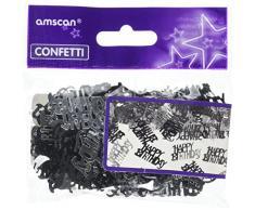 amscan 9900477 15 g Happy Birthday metallic Konfetti