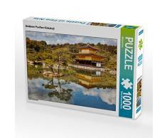 CALVENDO Puzzle Goldener Pavillon Kinkakuji 1000 Teile Lege-Größe 64 x 48 cm Foto-Puzzle Bild von Michael Kurz