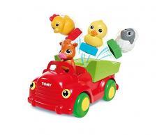 TOMY Sortier und Lern Bauernhof Tiere - hochwertiges Spielzeug für Kinder - ab 12 Monate