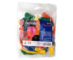 Idena 8630430 - Luftballons, 40 g, sortiert