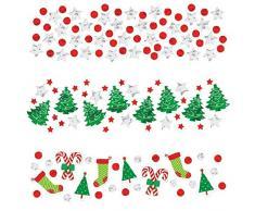 Amscan International 360144 34 G Weihnachten Konfetti Value Pack