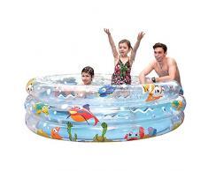 Jilong Ocean Pool Ø 150 x 53 cm Kinderpool Planschbecken Schwimmbecken Kinder Schwimmbad für Garten und Terasse