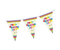 Susy Card 40012162 - Wimpelkette Happy Birthday, 4 m
