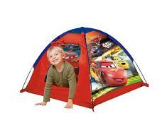 John GmbH 72508 Kids Gartenzelt Cars-Spielzelt, Campingzelt, Kinderzelt, Outdoorzelt mit gedrucktem Motiv für Kinder