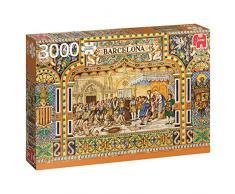 Jumbo Spiele 18590 - Fliesen aus Barcelona - 3000 Teile