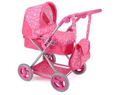 Unbekannt Snuggles TY6102 Deluxe Kinderwagen, Premium-Puppenwagen für Kinder