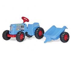 Rolly Toys rollyKiddy Classic Traktor mit Anhänger (für Kinder von 2,5 bis 5 Jahre, mit Heckkupplung, Kettenspannung einstellbar) 620012