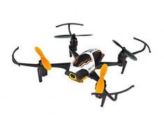Revell Control RC Quadrocopter mit Full HD-Kamera, ferngesteuert mit 2,4 GHz Fernsteuerung, Gyro, Wechsel-Akku, Flip-Funktion, Geschwindigkeitsstufen, LED-Beleuchtung, stabiles Chassis, SPOT 2.0 23907