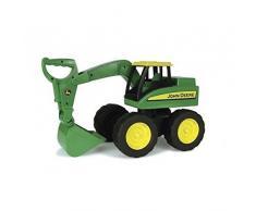 TOMY Bagger John Deere Big Scoop in grün - stabiler & robuster Kinderspielzeug Bagger aus Kunststoff für den Sandkasten - ab 3 Jahre
