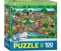 Eurographics MO Puzzle Spot and Find a Day in The Zoo (100 Teile)