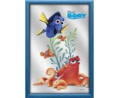 Finding Dory V829395 Wandspiegel Happy Dory, Blau