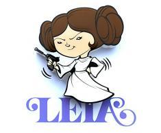 3D Light FX Licht Star Wars Leia 3D Deco Mini-Sized LED Wandleuchte