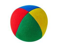 Jonglierball: HENRYS Beanbag Superior 62mm, Vierfarbig