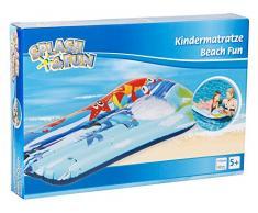 Splash & Fun Kindermatratze Beach Fun Sichtfenster 110x60cm