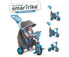 Blaues Smart Trike Swing 4-In- Kind Dreirad Baby Rutschfahrzeug Kinderwagen