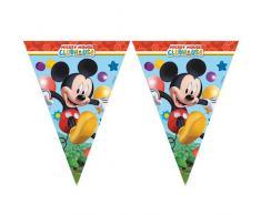 Mickey Maus Wunderhaus Wimpelkette Kindergeburtstag