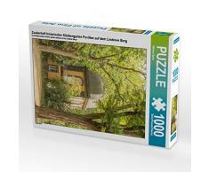 CALVENDO Puzzle Zauberhaft historischer Küchengarten Pavillon auf dem Lindener Berg 1000 Teile Lege-Größe 48 x 64 cm Foto-Puzzle Bild von Michael Speer