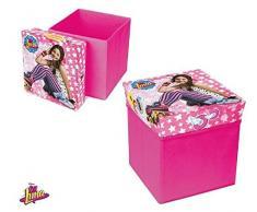 SOY LUNA Ich bin Luna Aufbewahrungsbox Hocker Sitzsack, zusammenklappbar (Suncity sla402270)