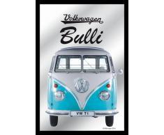 Spiegel VW Bulli - VW Lizenz Wandspiegel (22x 32cm)