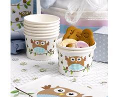 Neviti Little Owls Eisbecher, Blau