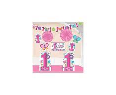 Amscan 240432 - Party Deko Set, Sweet Birthday Girl, 10 teilig