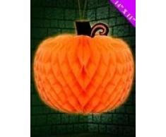 Davies 11422 Halloween Kürbis Honeycomb Dekoration Set