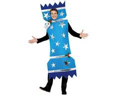 Smiffys, Herren Knallbonbon Kostüm, Überwurf, Größe: M, 28023