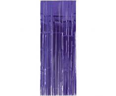 Amscan International 24200-106 91 cm x 2,43 m violett Tür Vorhang