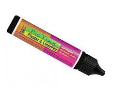 Kreul 49819 - PicTixx Pluster und Liner Pen, Plusterfarbe zum Dekorieren und Verzieren, für Dekoeffekte durch aufplustern im Backofen, mit Bügeleisen oder Fön, 29 ml Pen, schwarz