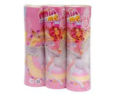 Ciao 20052 – 3 Stück Luftschlangen Mia and Me, Pink