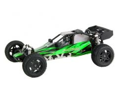 XciteRC 30206000 - Ferngesteuertes RC Modellauto Sand Storm one8 2WD RTR Dune Buggy, 2.4 GHz Brushless 11.1 V, M 1:8, grün