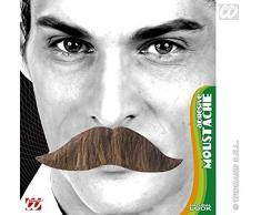 WIDMANN King Schnurrbart-Klebeband - 3 Farben Royal & Regal Neuheit Fake False Schnurrbärte Bart Koteletten usw. für Kostümzubehör