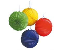 tib 13000 Laterne, rund, mehrfarbig, Einheitsgröße