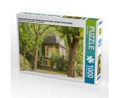 CALVENDO Puzzle Zauberhaft historischer Küchengarten Pavillon auf dem Lindener Berg 1000 Teile Lege-Größe 64 x 48 cm Foto-Puzzle Bild von Michael Speer