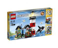Lego 31051 Creator Leuchtturm-Insel, Bausteinspielzeug