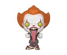 Funko 40631 POP Vinyl: Movies: IT: Chapter 2-Pennywise w/Dog Tongue Sammelbares Spielzeug, Mehrfarben